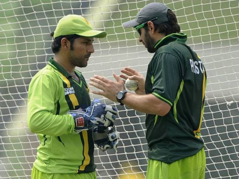 Afridi sends a special message to new T20I captain Sarfraz Ahmed