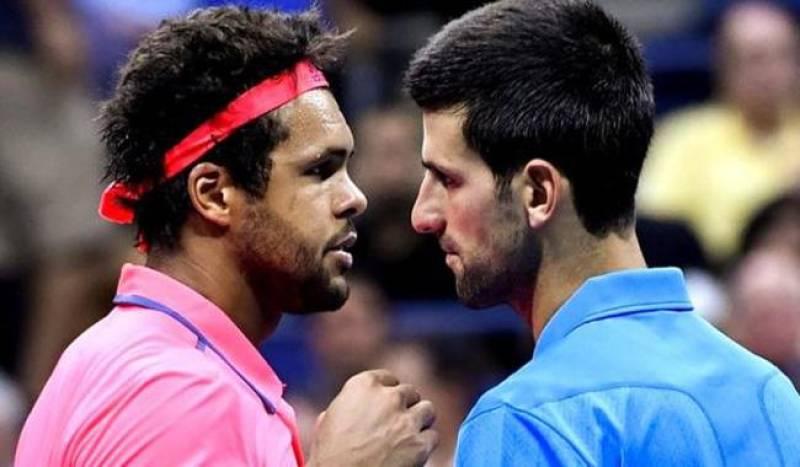 Djokovic into US Open semis as Tsonga retires