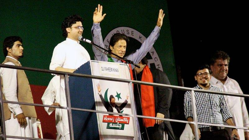 Imran Khan announces Raiwind march on September 24