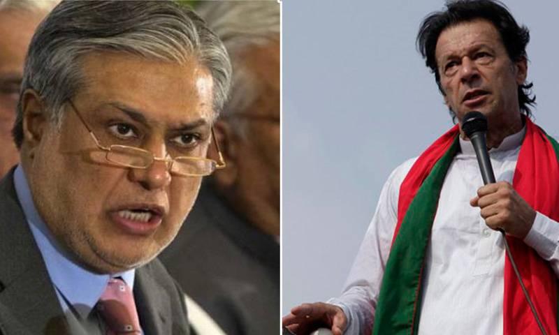 Ishaq Dar refutes Imran Khan's allegations against FBR Chairman
