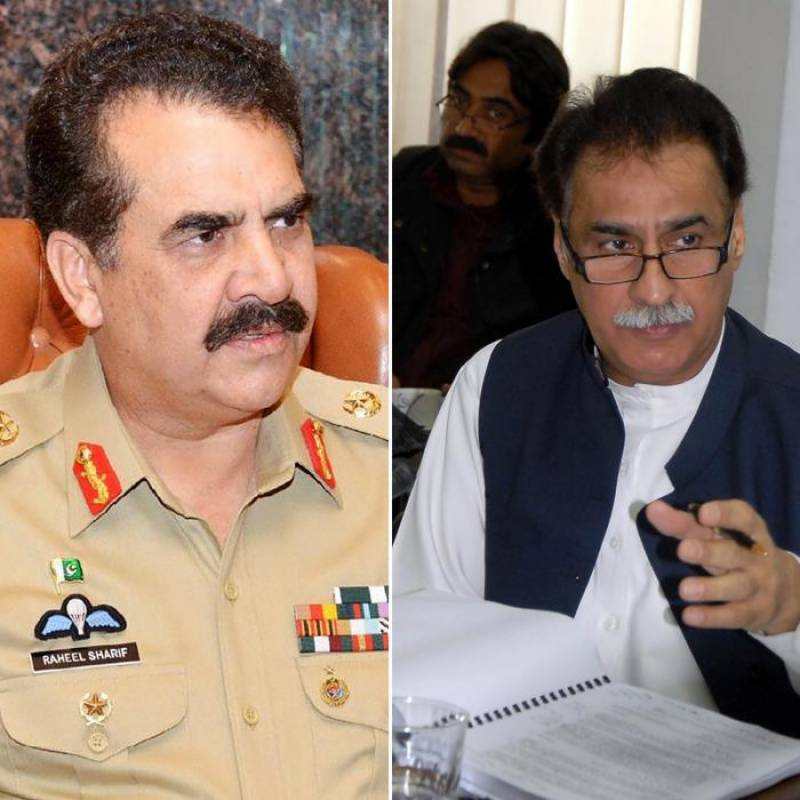 NADRA officer's father was kidnapped to save Ayyaz Sadiq's NA-122 seat and later released on intervention of Gen Raheel Sharif, claims journalist