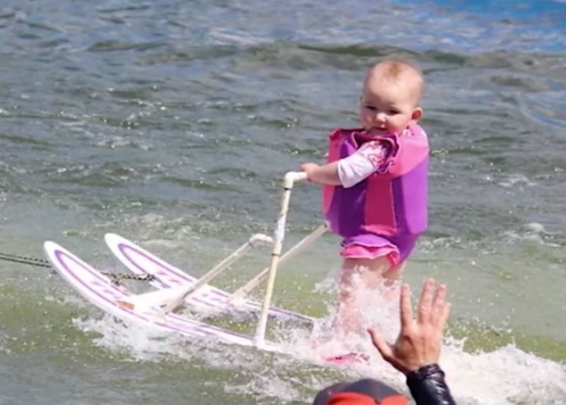 This 6-month-old is crowned World's Youngest Water Skier