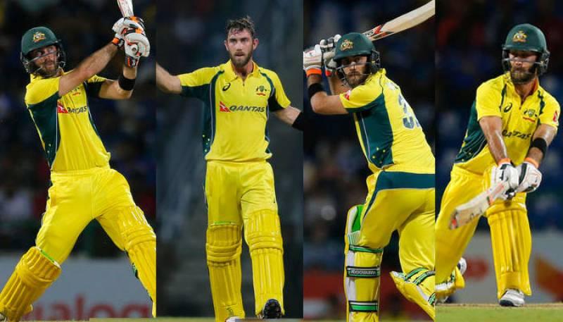 WATCH: Glenn Maxwell's 145 runs off just 65 balls against Sri Lanka in 1st T20I