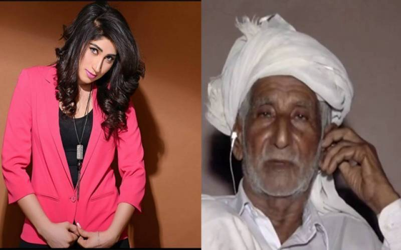 My son didn't kill Qandeel Baloch: Qandeel's father