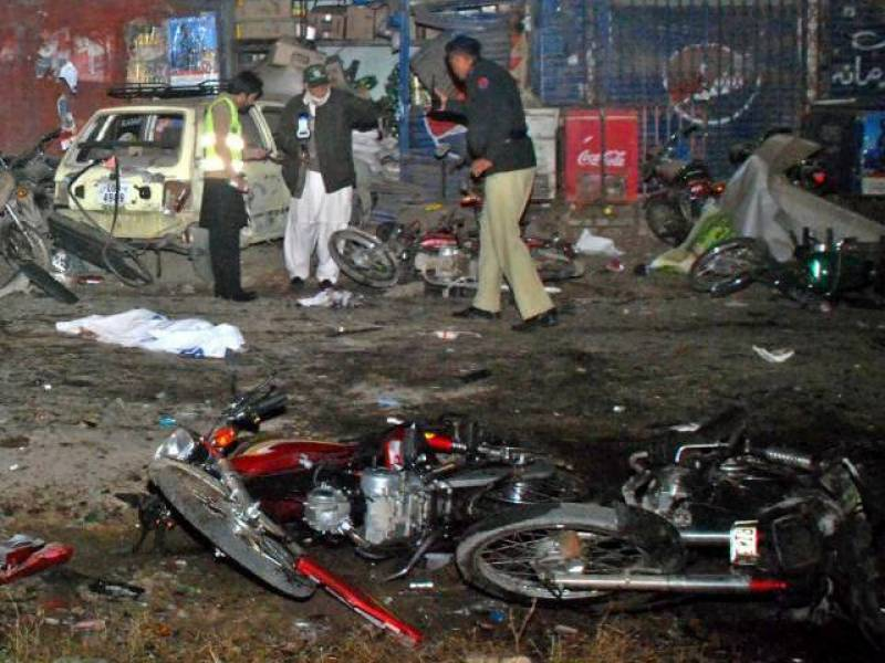 10 injured as bomber storms Shikarpur Imambargah during Eid prayer; another attacker arrested alive