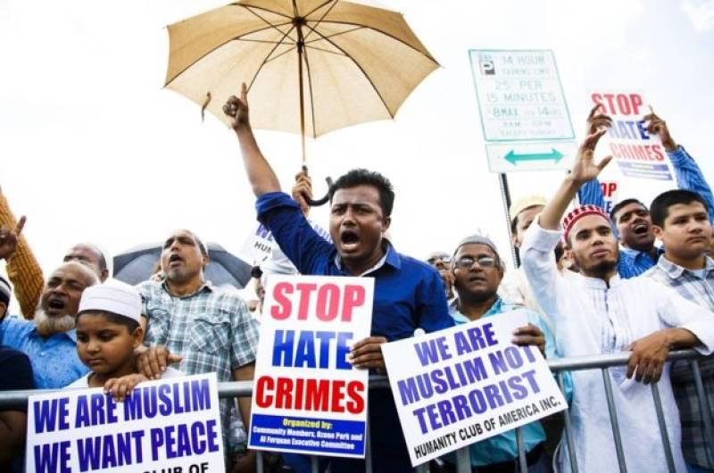 Muslim woman set on fire in New York Islamophobic attack