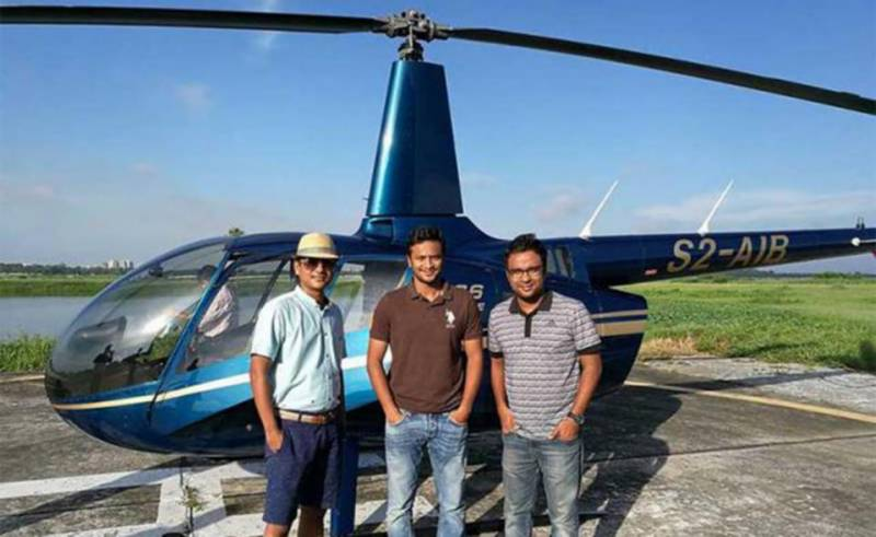 Bangladesh all-rounder Shakib Al Hasan luckily escapes helicopter crash