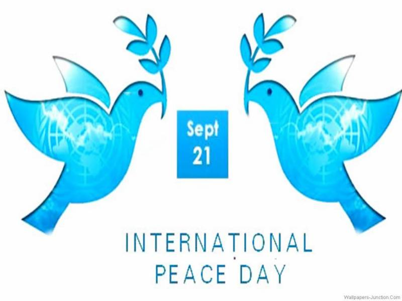 International Peace Day being marked today
