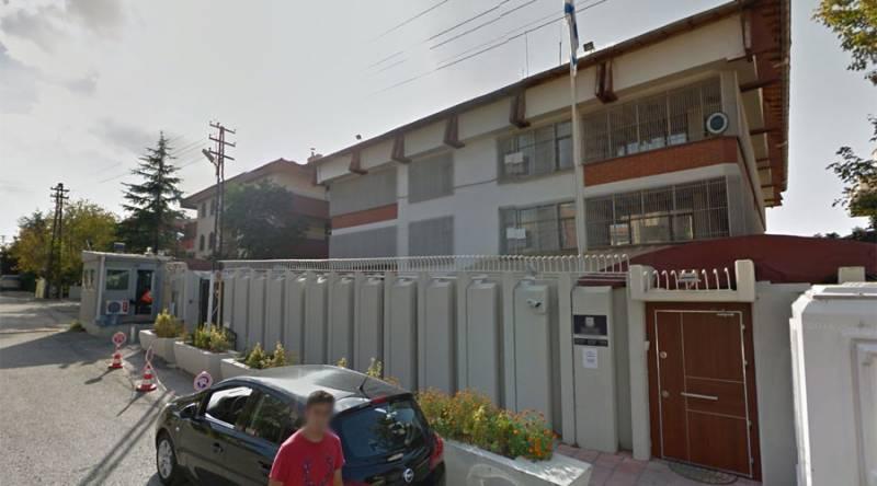 Israeli embassy attacked in Turkey; attacker shot