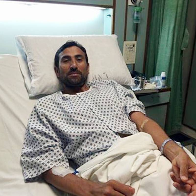 Younis Khan hospitalized after high fever