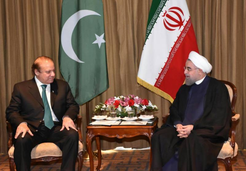 Pakistan's security is Iran's security, Rouhani tells Nawaz Sharif