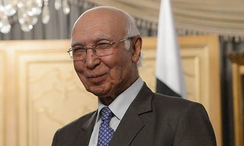 Indian attempts to isolate Pakistan failed: Sartaj Aziz