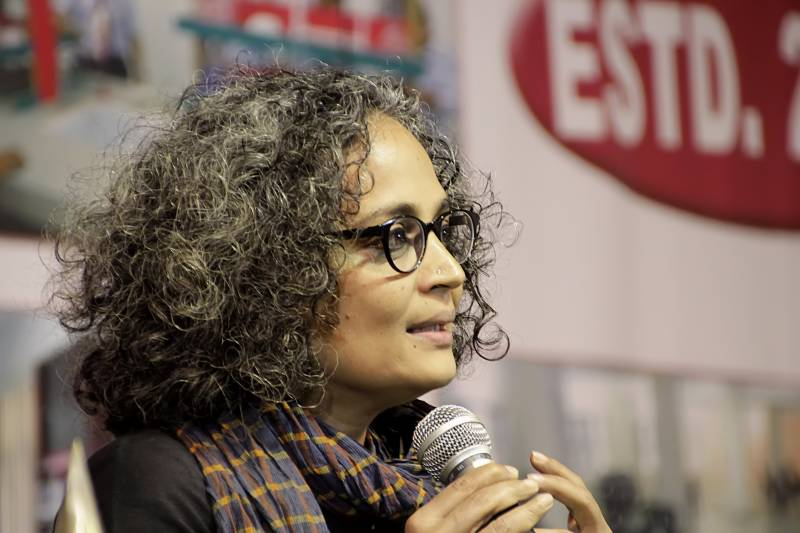 Situation in Indian held Kashmir is very critical: Arundhati Roy