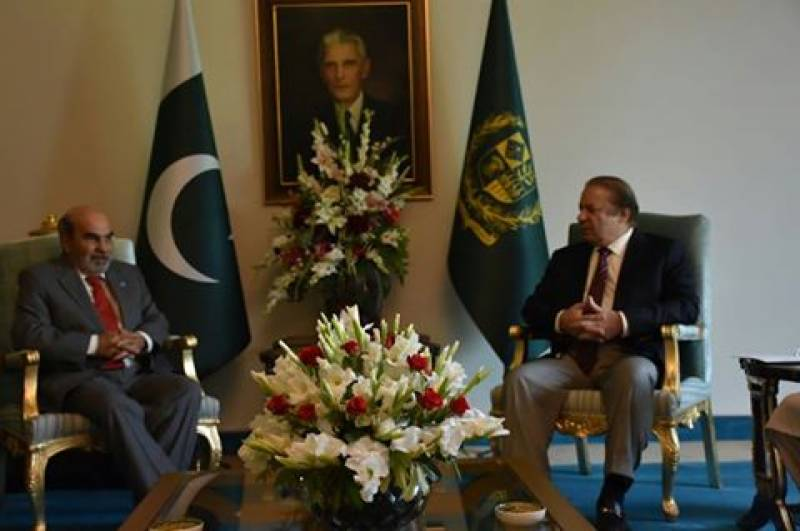 DG Food and Agriculture Organisation calls on PM Nawaz