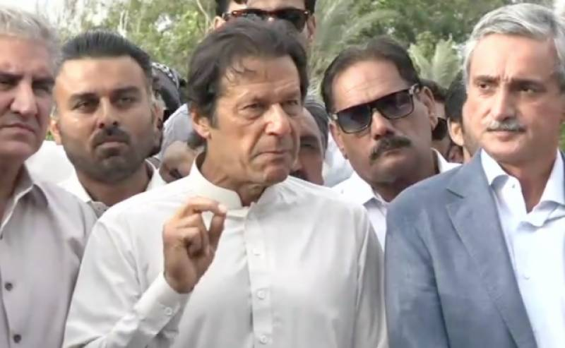 Imran asks people to reach Islamabad on Oct 30