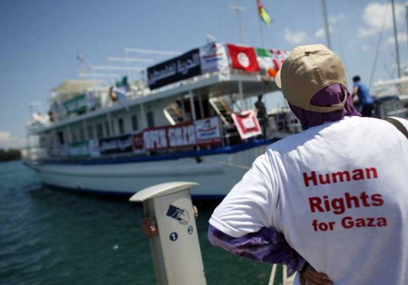 Pink Floyd reunites to support Gaza Freedom Flotilla