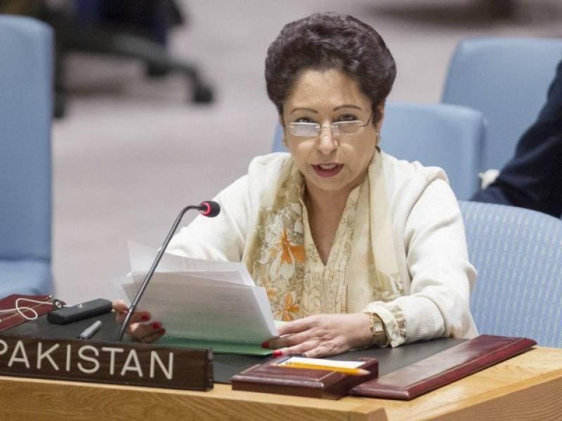 Ambassador Lodhi urges world body to help resolve Kashmir dispute