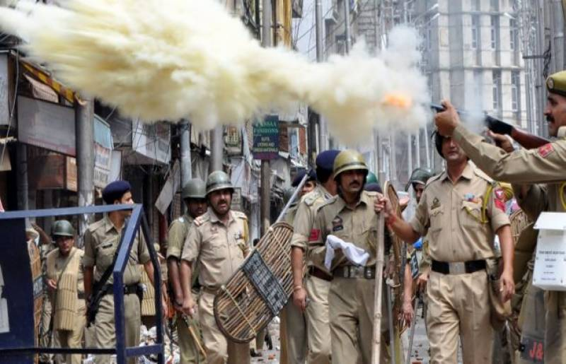 Occupied Kashmir witnesses biggest crackdown in two decades, more than 446 arrested in a week