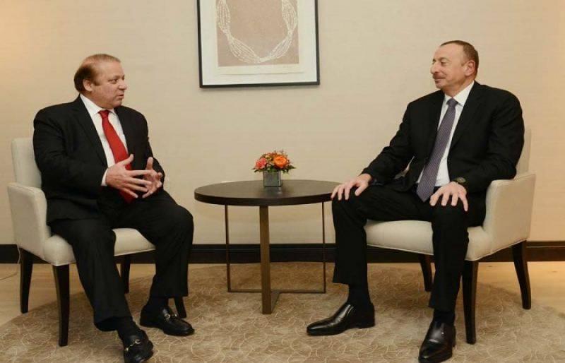 PM Nawaz holds bilateral dialogue with Azerbaijan President Ilham Aliyev