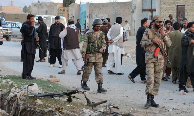 Two FC personnel shot dead in Quetta