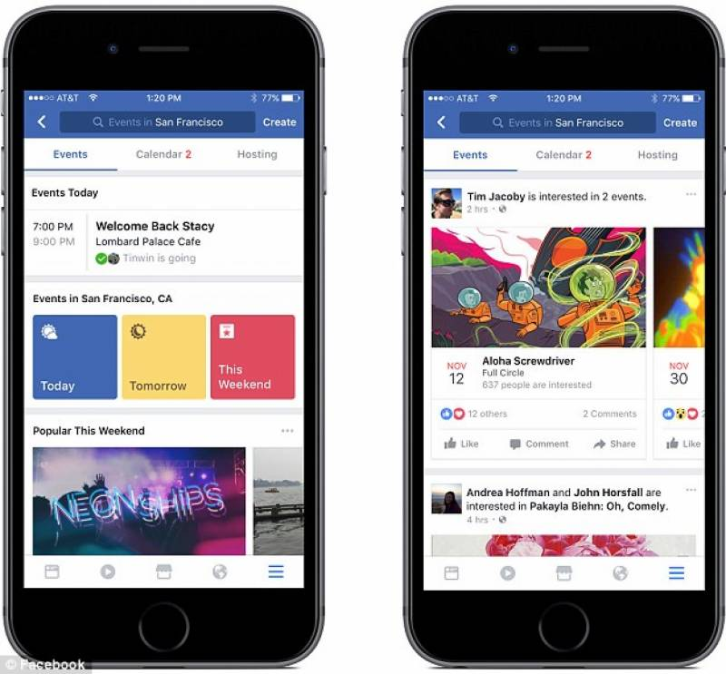 Facebook introduces food ordering feature