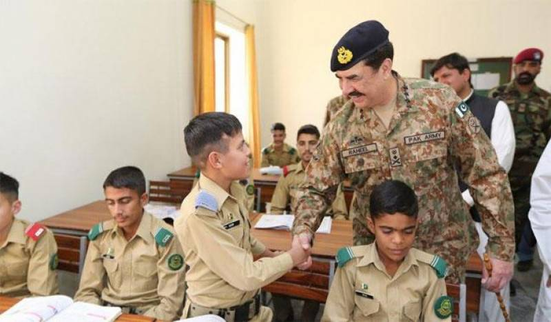 General Raheel Sharif inaugurates cadet college in South Waziristan
