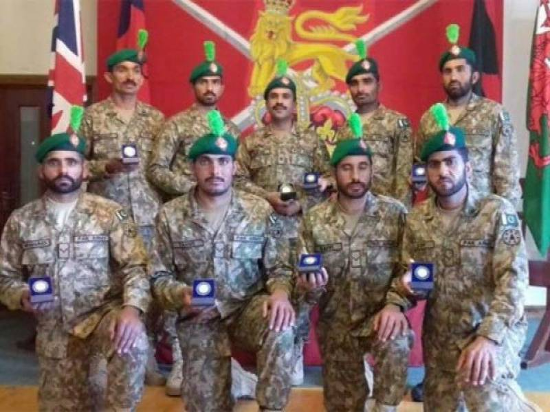 Pakistan Army bags gold in