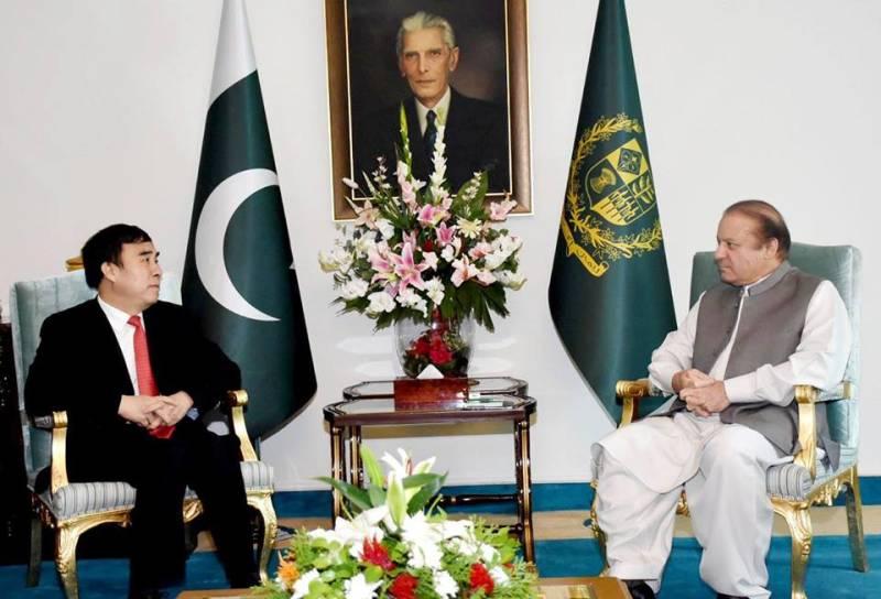 Pakistan, China friendship based upon shared interests: PM Nawaz