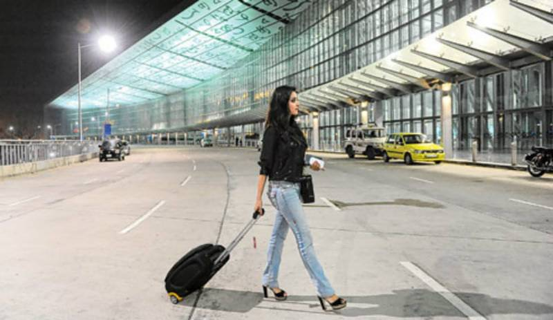 Man arrested for urinating on woman's bag at Indian airport