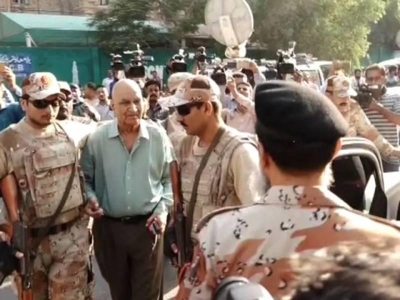 Rangers arrest MQM-London's Hassan Zafar Arif from Karachi Press Club