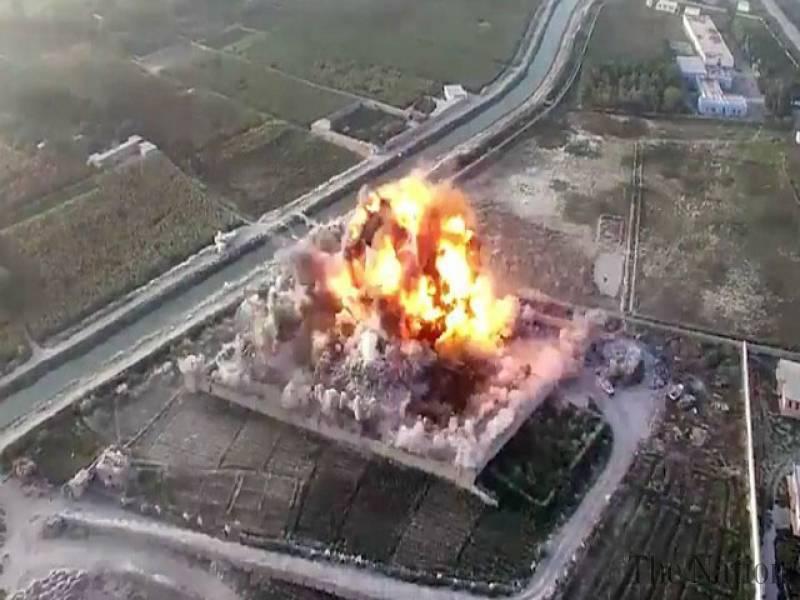 Afghan Taliban release drone footage of suicide blast