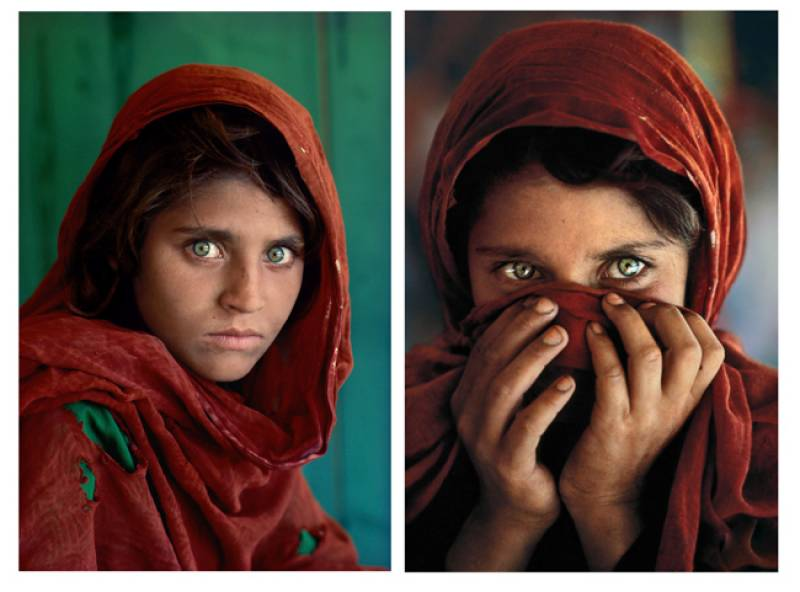 Afghanistan's green-eyed Mona Lisa arrested in Pakistan
