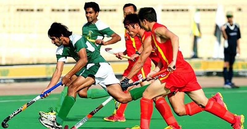 Fourth Asian Hockey Champions Trophy 2016 - Pakistan beat China 4:0 to reach semi-finals