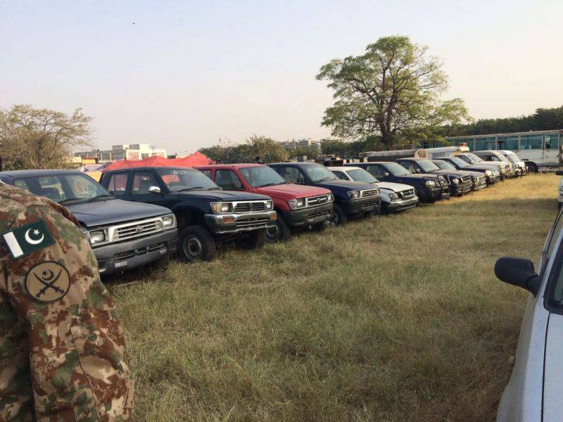 ISI's secret stash of cars up for sale