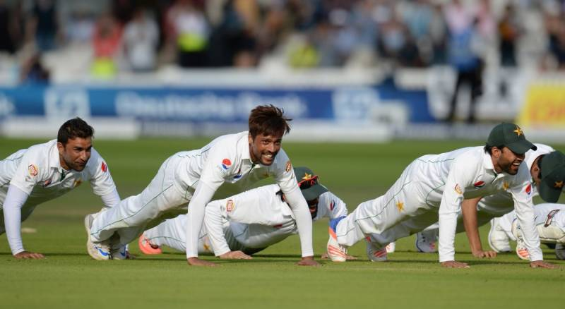 Parliament thinks cricket players doing push-ups after winning promotes negative image of Pakistan