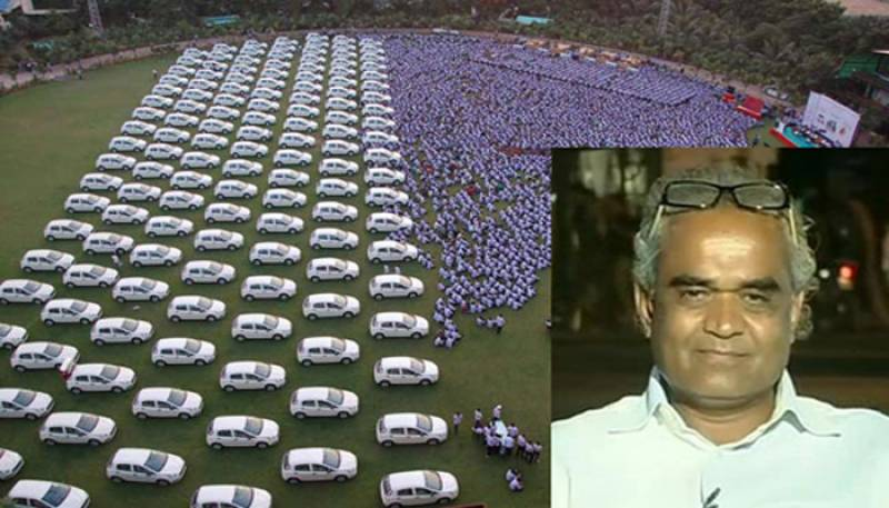 Indian businessman gifts 400 flats, 1260 cars to employees as Diwali gifts