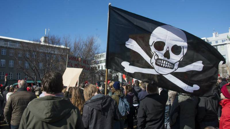 'Pirates' may rule Iceland in next election