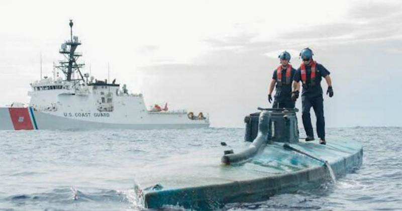 More than 2 tons of Cocaine worth $73m seized from SUBMARINE