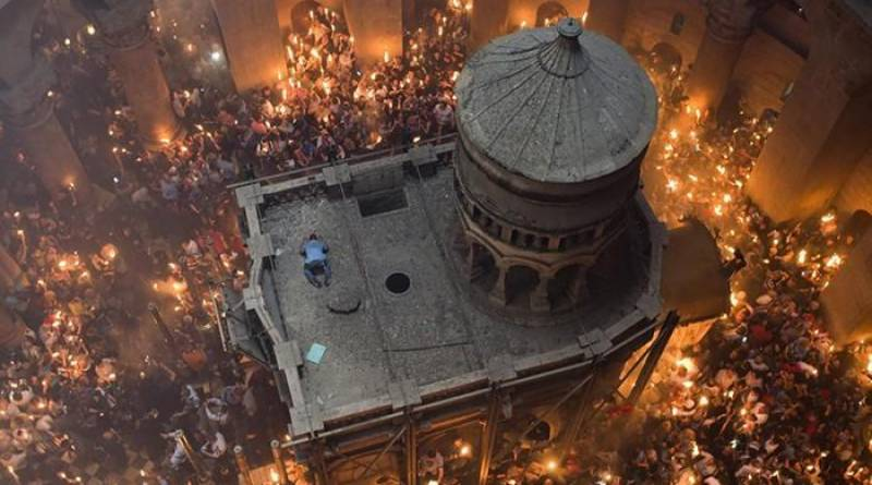 PICTURES: Jesus' tomb opened for the first time after centuries