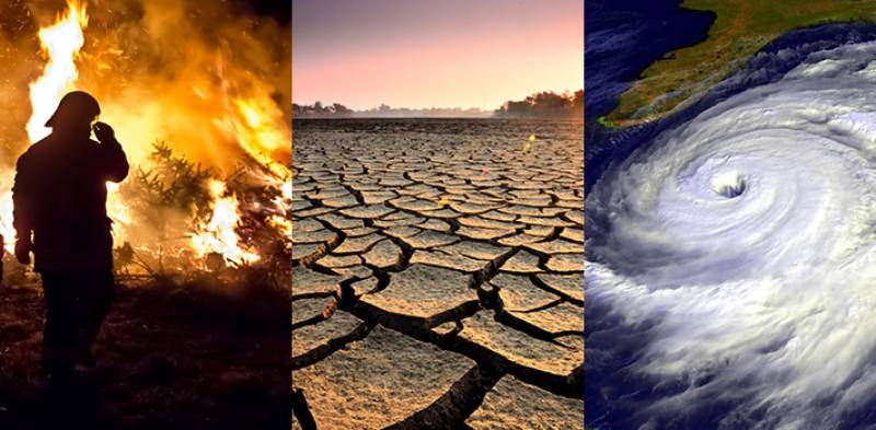'Climate change increases risks of extreme weather events'