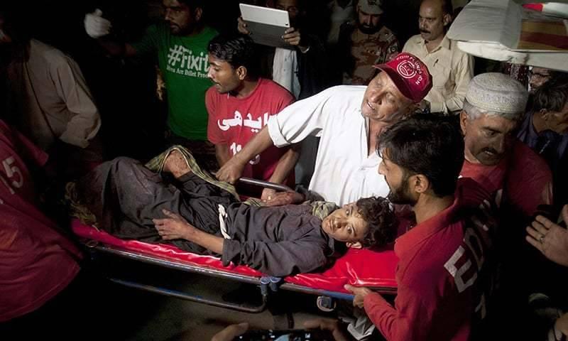 At least 62 killed, 100 injured in Shah Noorani Shrine blast in Khuzdar