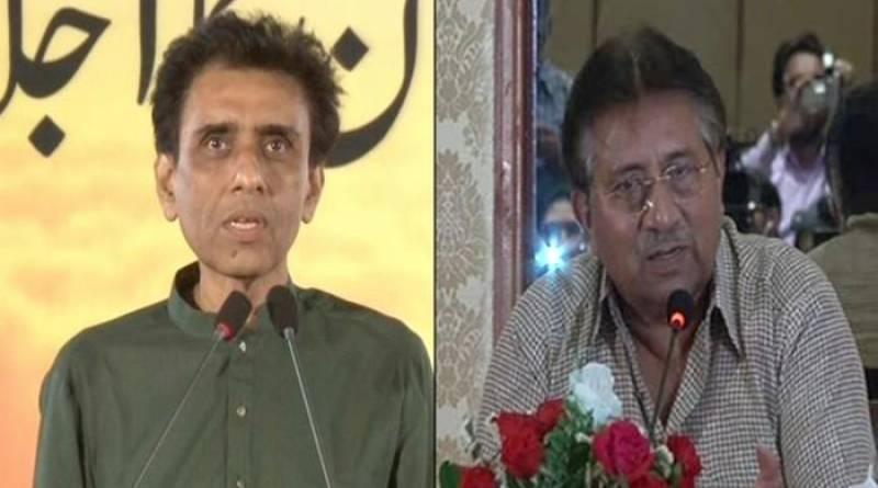 MQM-Pakistan Maqbool Siddiqui meets Pervez Musharraf in Dubai