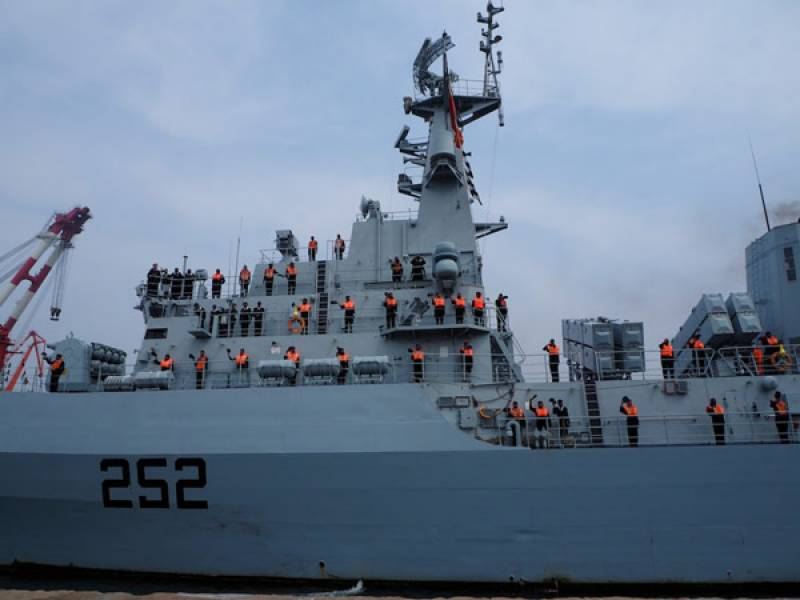 Two Chinese frigates arrive Pakistan for joint drills: Pakistan Navy