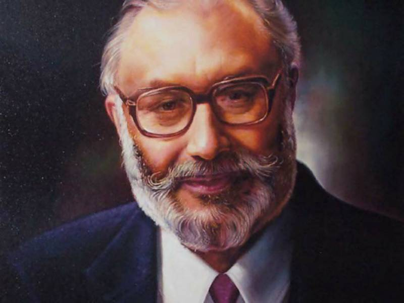 Pakistan's first Nobel laureate Dr Abdus Salam being remembered on 20th anniversary