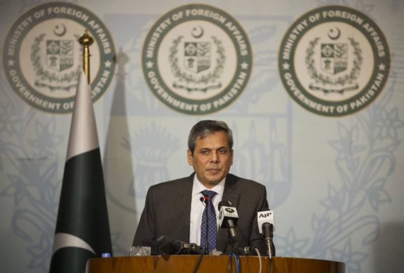 Indian hostility being raised at international forums: FO