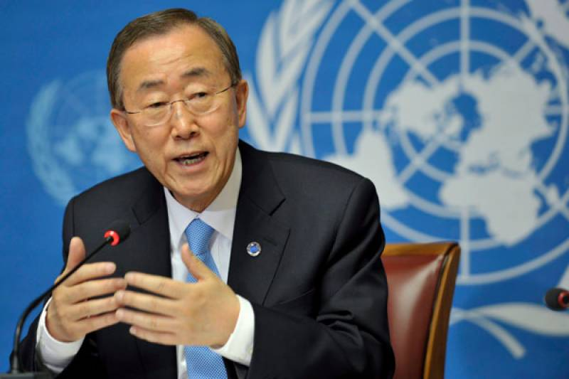 UN Chief expresses concerns over LoC tension