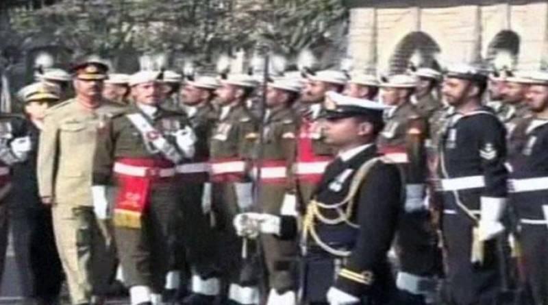 General Zubair Mahmood Hayat takes charge as CJCSC