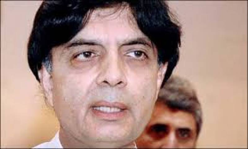 Ch Nisar arrives in Pakistan after medical checkup