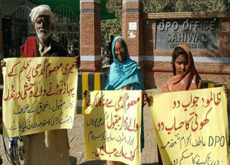 Family protests gang rape of their beloved donkey