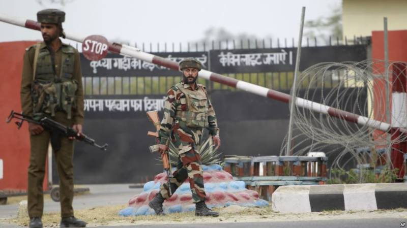 Seven Indian soldiers killed in attack on army base near Jammu